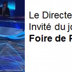 Le Directeur de Brink's Protection Privée, Invité du journal de 20H, à l'occasion de la Foire de Paris.