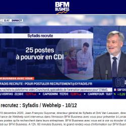 25 postes à pourvoir en CDI chez Syfadis - Jean-François Guyomar souriant